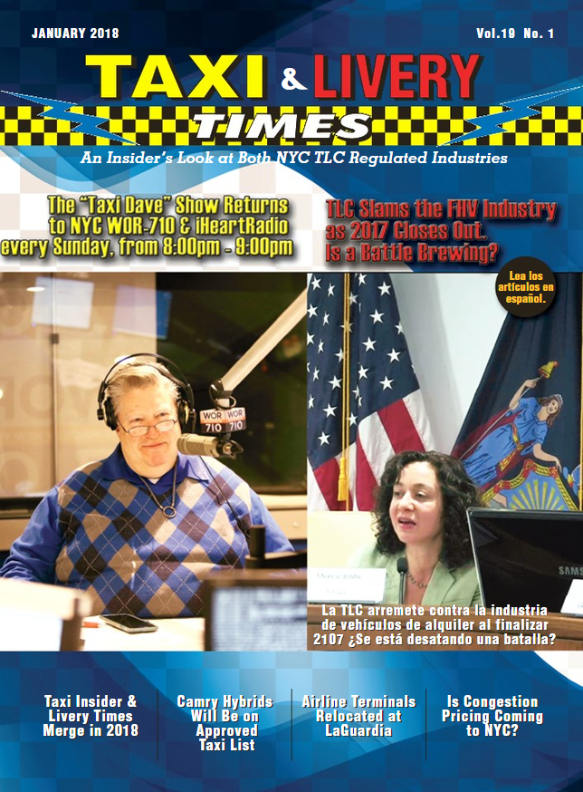 Taxi Livery Times Cover - 201801